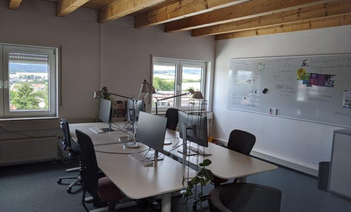 Mietbüro in Idstein mit flexiblen Arbeitsplätzen